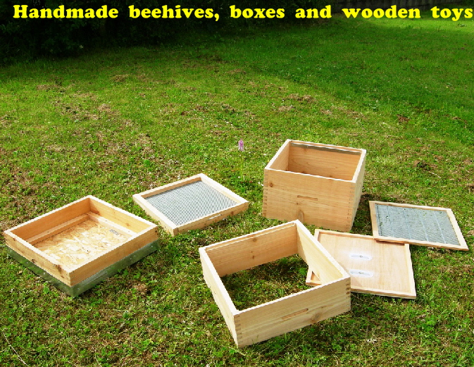 100 % Irish - All types of Beehives made in Ireland!
